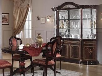 Гостиная стенка «Роза могано» - Оптовый мебельный склад «Дина мебель»