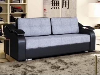 Серый диван Люксор  - Мебельная фабрика «Мебельный комфорт»