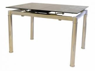 Стол стеклянный раскладной 1615 - Импортёр мебели «МебельТорг»