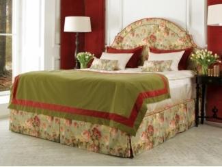 Высокая кровать в спальню Жаклин  - Мебельная фабрика «Рой Бош»