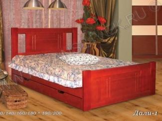Кровать Дали 1 - Мебельная фабрика «Альянс 21 век»
