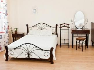 Спальный гарнитур Ф шоколад - Мебельная фабрика «Виктория-мебель»