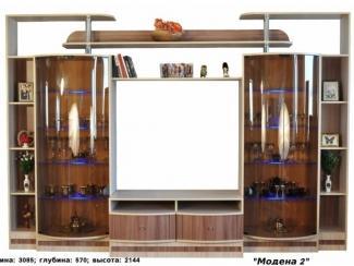Коричневая гостиная Модена 2 - Мебельная фабрика «Веста»