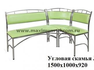 Кухонный уголок 2 - Мебельная фабрика «Максимум-хром»