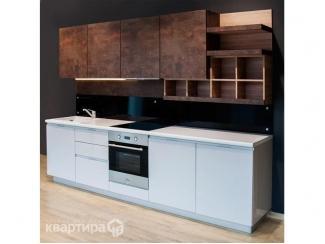 Кухонный гарнитур прямой Ольхон  - Мебельная фабрика «Квартира 48 (Камеа)»