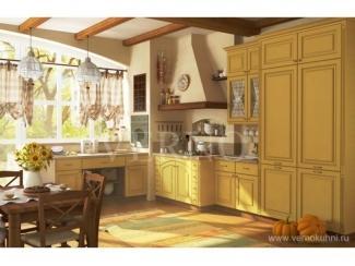 Кухонный гарнитур Оливия с патиной 2 - Мебельная фабрика «ВерноКухни»