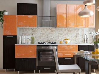 Кухонный гарнитур прямой Апельсин - Изготовление мебели на заказ «Оптимум»