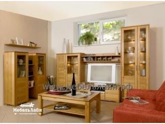 Гостиная из дерева - Мебельная фабрика «МебельЛайн»