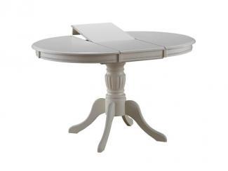 Стол Olivia T4EX кремово-белый - Импортёр мебели «А.Т.Дизайн (Малайзия)»