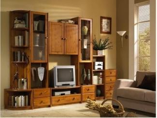 Гостиная из массива сосны 4 - Мебельная фабрика «Дубрава»