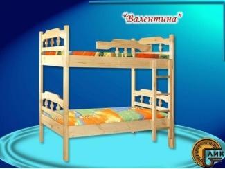 Двухъярусная кровать  Валентина - Мебельная фабрика «Лик»