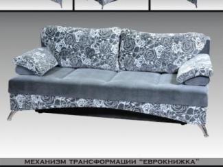 диван прямой Юлия еврокнижка - Мебельная фабрика «Искандер», г. Салават