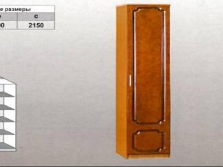 Шкаф распашной одностворчатый - Мебельная фабрика «Мебельная Сказка»
