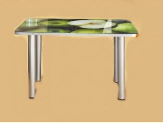 Стол обеденный со стеклянной поверхностью