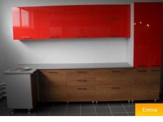 Кухня прямая Елена - Мебельная фабрика «ТиАС»