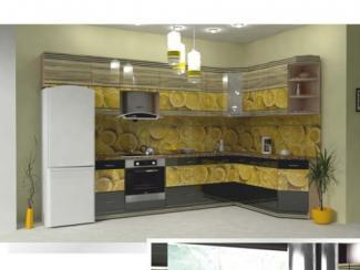 Кухня угловая Фотопечать 07 - Мебельная фабрика «Форт»