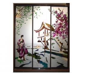 Шкаф купе Восточный дворик - Мебельная фабрика «Красивый Дом»