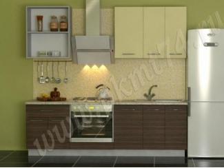 Маленькая прямая кухня  - Мебельная фабрика «ПК Мебельные технологии»