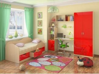Детская красная - Мебельная фабрика «Элика мебель»