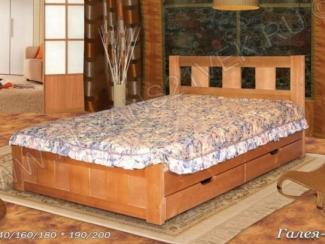 Кровать из дерева Галея 2 - Мебельная фабрика «Альянс 21 век»