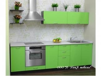 Яркая зеленая кухня Фисташка - Мебельная фабрика «А-Ника», г. Ульяновск