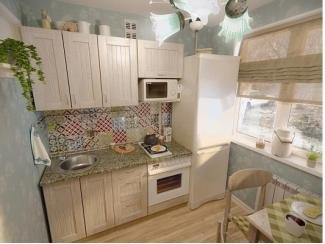 Кухня прямая Кантри - Мебельная фабрика «Евромебель»