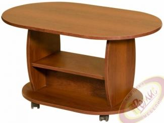 Стол журнальный овал  - Мебельная фабрика «Ромис»
