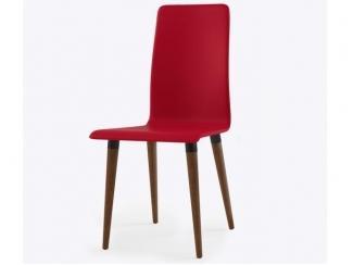 Стул красный из эко-кожи Бейз  - Изготовление мебели на заказ «Кухни ЧУ»