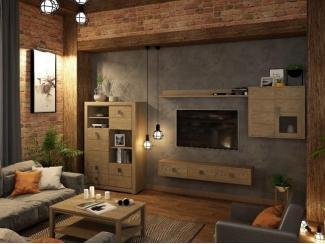 Гостиная Лофт Темпо  - Мебельная фабрика «Домашняя мебель»