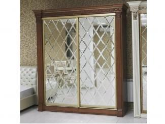 Хрустальный шкаф купе - Мебельная фабрика «Таурус»
