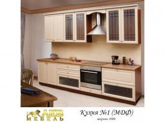 Кухня МДФ 1 - Мебельная фабрика «Лев Мебель»
