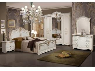 Элитная спальня Джаконда белая - Мебельная фабрика «Слониммебель», г. Слоним