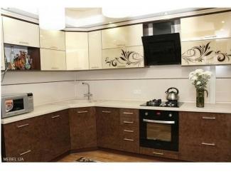 Угловая большая кухня - Мебельная фабрика «Люкс-С»