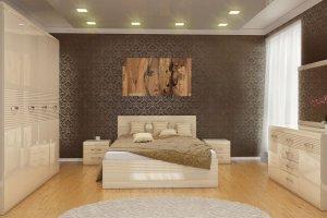 Спальный гарнитур Афина 1 - Мебельная фабрика «Успех»