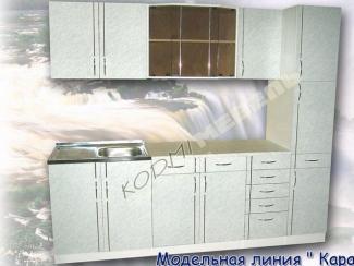 Кухонный гарнитур прямой Карара
