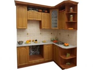Кухня угловая Ольха арка - Мебельная фабрика «Техсервис»