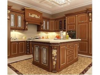 Кухня из массива ореха Виноград