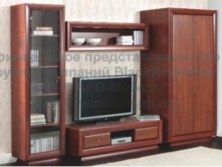 Гостиная стенка Ларго классик - Импортёр мебели «БРВ-Мебель (Black Red White)»