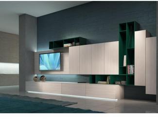 Гостиная стенка 038 - Мебельная фабрика «Mr.Doors»