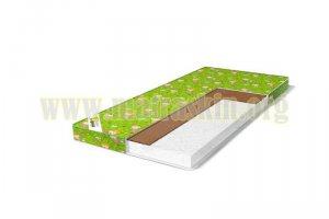 Матрас для новорождённых Цветочек бязь  беспружинный - Мебельная фабрика «Матраскин»