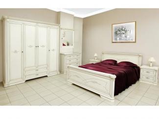 Спальный гарнитур «Гербера» (эмаль) - Мебельная фабрика «Нижегородец»