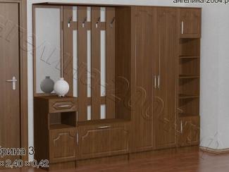 Прихожая Сабрина 3 - Мебельная фабрика «Ангелина-2004»