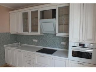Белая прямая кухня - Мебельная фабрика «Беранд»