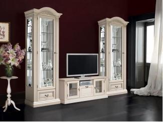 Гостиная Мальта светлая - Мебельная фабрика «Ульяновскмебель (Эвита)»