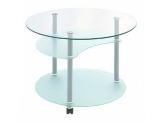 Стол журнальный Луна М - Мебельная фабрика «Мебель из стекла»