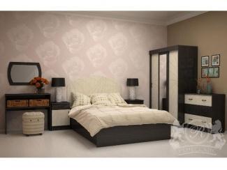 Спальный гарнитур Афродита 1 МДФ - Мебельная фабрика «Ренессанс»