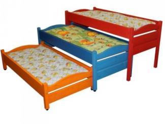 Кровать детская 3-х секционная