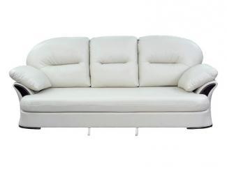 Прямой белый диван  - Мебельная фабрика «Левано»