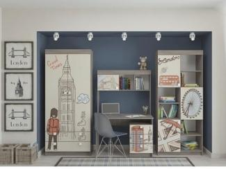 Современная детская Лондон - Мебельная фабрика «Династия»