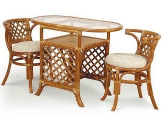 Обеденная группа из ротанга арт. 03/03К - Импортёр мебели «ЭкоДизайн (Китай, Индонезия)»